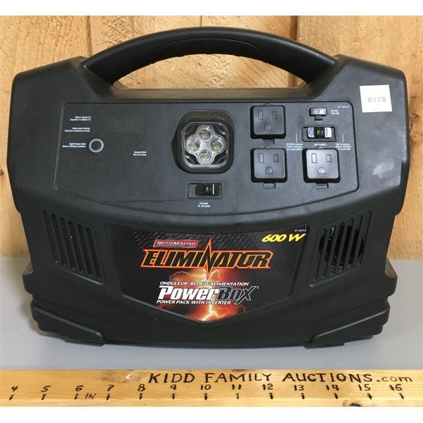 MOTOMASTER ELIMINATOR 600 W POWER BOX