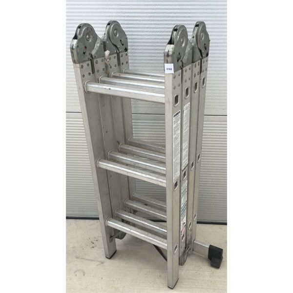 12 FOOT ARTICULATED EXTENSION LADDER