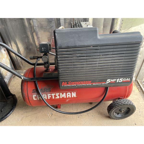 CRAFTSMAN 5 HP/ 15 GAL PORTABLE AIR COMPRESSOR