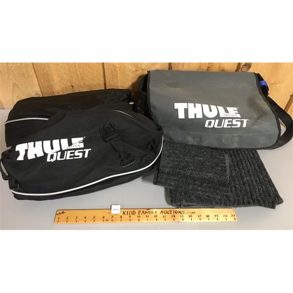THULE COLLAPSIBLE ROOF TOP CARRIER KIT - AS NEW