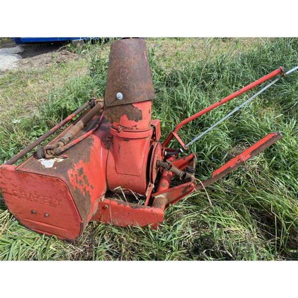 3 FOOT SNOW BLOWER FOR GRAVELY TRACTOR
