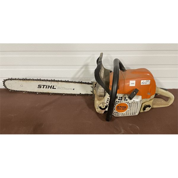 STIHL MS391 CHAINSAW  - GOOD WORKING CONDITION