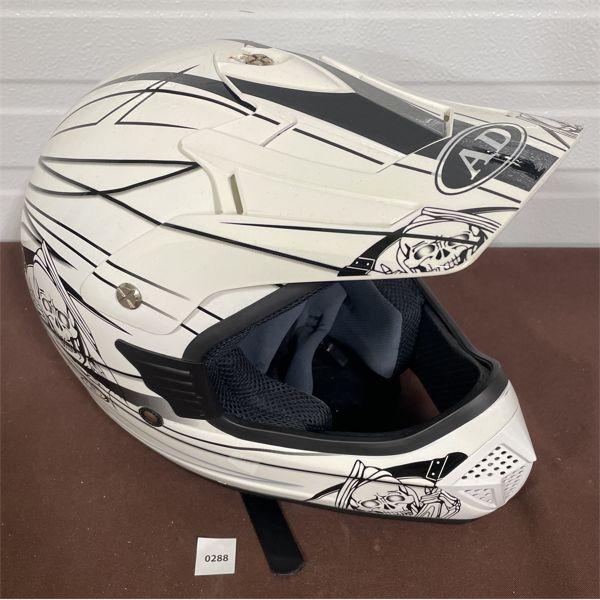 MOTORCYCLE HELMET - UNKNOWN SIZE
