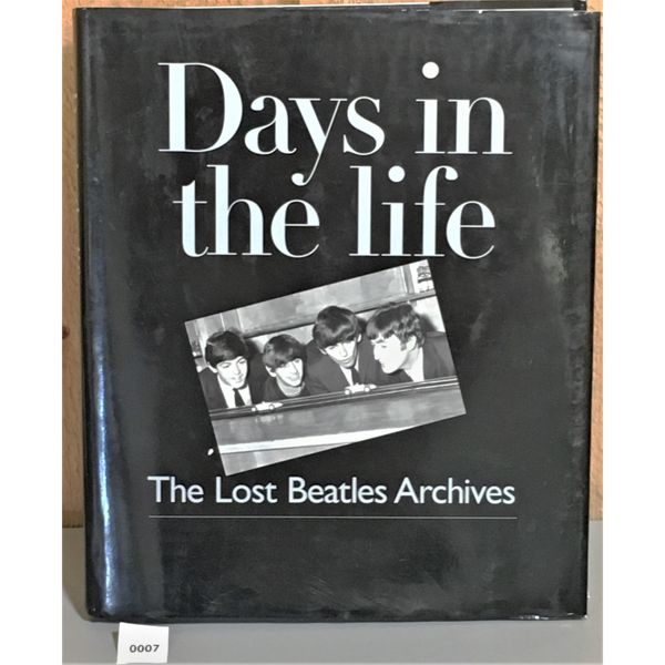 COFFEE TABLE BOOK - DAYS IN THE LIFE. THE LOST BEATLE ARCHIVES
