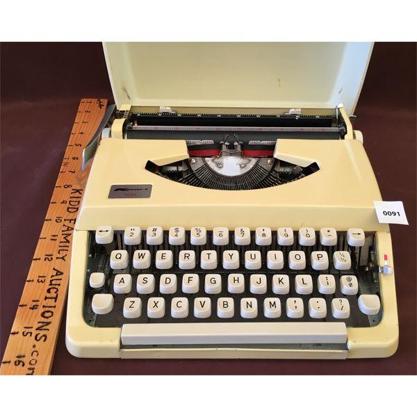 VINTAGE K-MART TYPEWRITER W/ ORIGINAL CASE