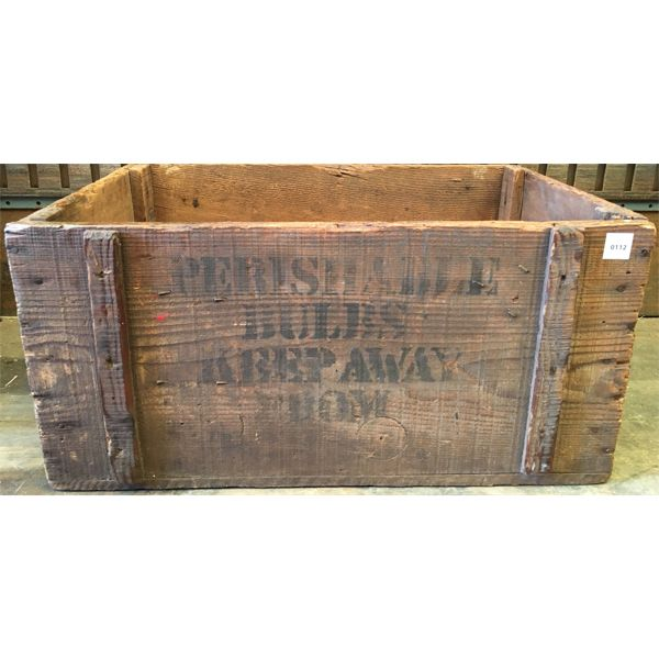 BULB CRATE - 15 X 24 INCHES