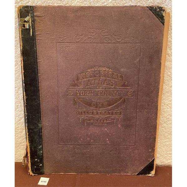 1874 YORK COUNTY, ONT. ATLAS
