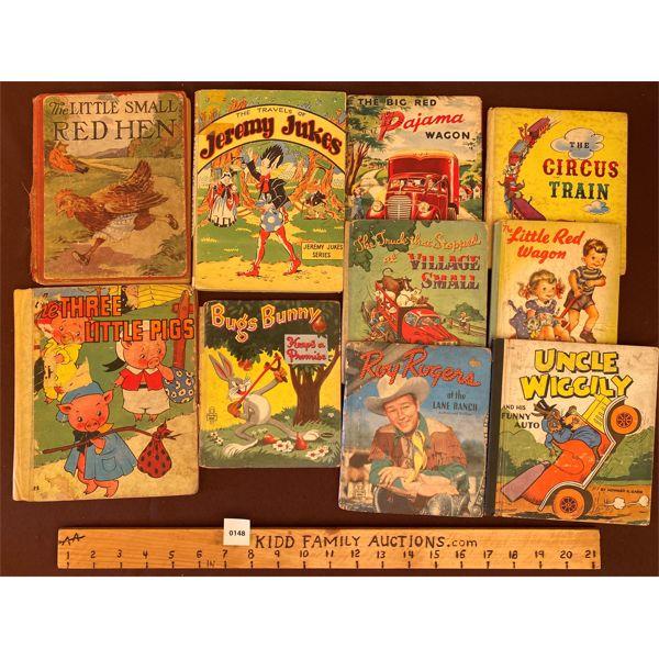 JOB LOT OF VINTAGE CHILDREN'S BOOKS