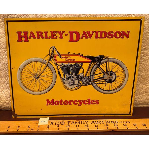 "HARLEY-DAVIDSON MOTORCYCLES  SST 14"" x 11"""