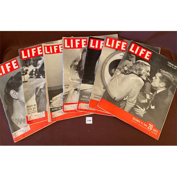 QTY OF 1940'S LIFE MAGAZINES