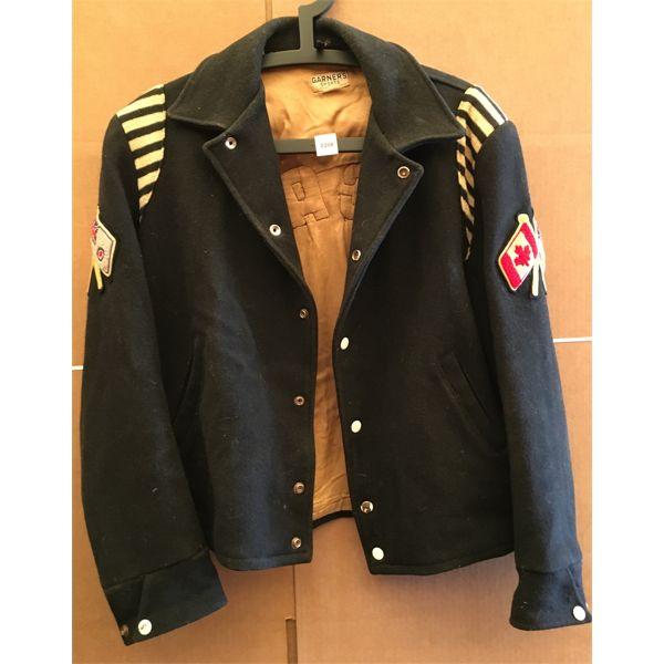 RCAF WOOL BOMBER JACKET - MADE BY GARNER'S SPORTS BARRIE