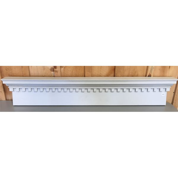 COURTICE TOPPER / SHELF - 10 X 56 INCHES