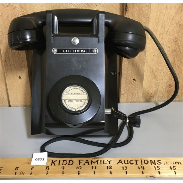 CALL CENTRAL - CRANK PHONE - VERY GOOD CONDITION