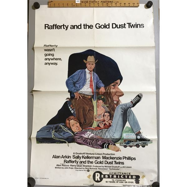 LOT OF 2 - MOVIE POSTERS - 27 X 40 INCHES