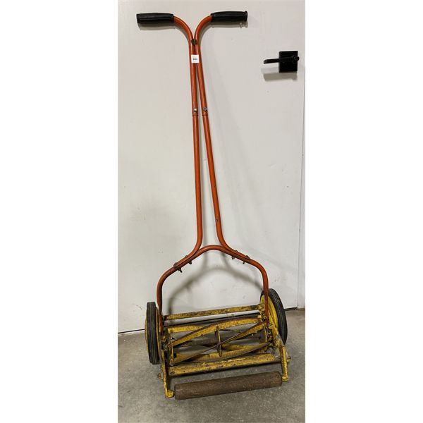 VINTAGE ROTARY MOWER - WORKING - MADE IN ENGLAND