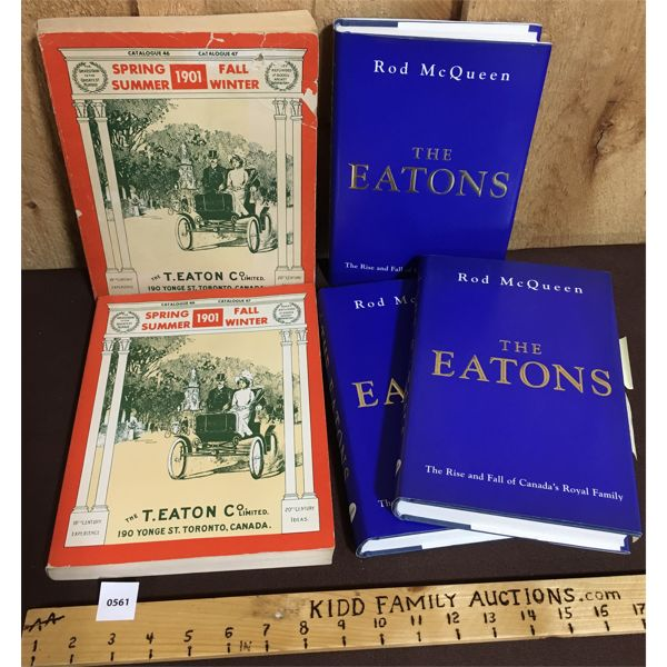 LOT OF 5 - EATON'S PUBLICATIONS
