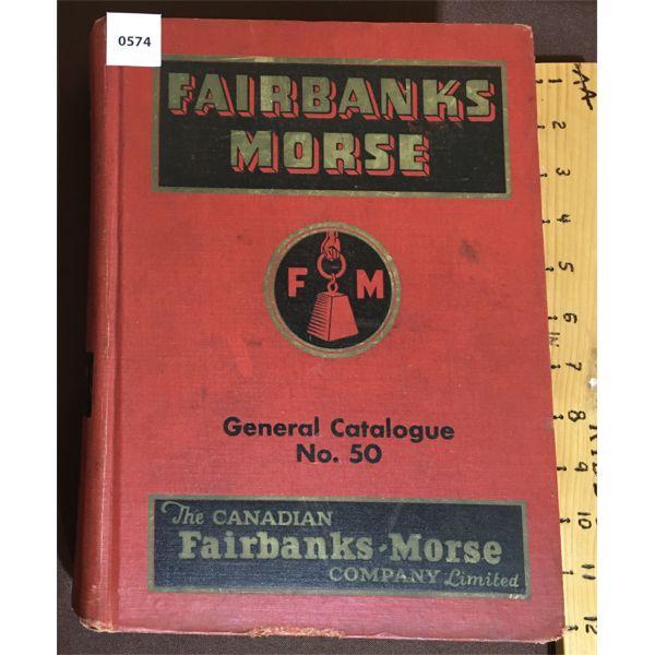 1950 FAIRBANKS MORSE GENERAL CATALOG