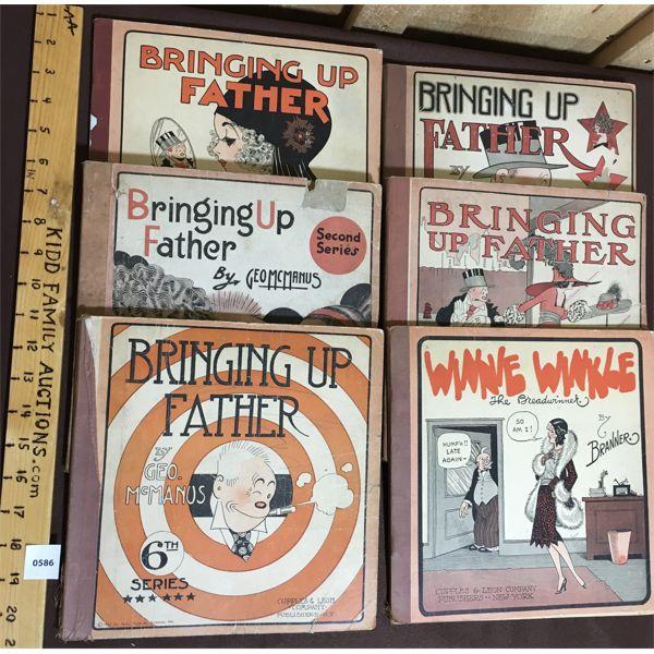 LOT OF 6 - COMIC BOOK PUBLICATIONS - 1919-1930