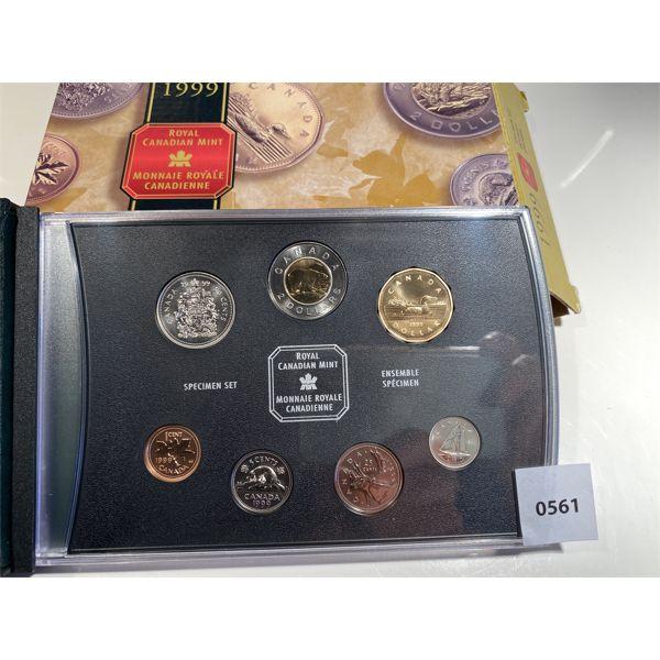 1999 RCM SPECIMEN SET W/ ORIG BOX