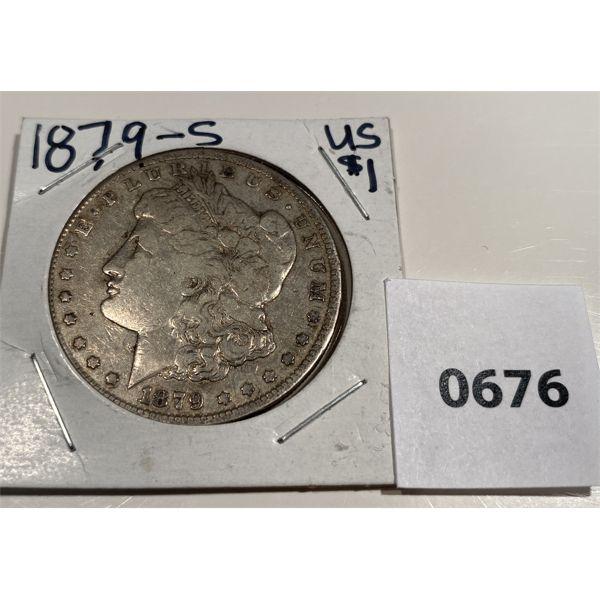 1879 US SILVER DOLLAR
