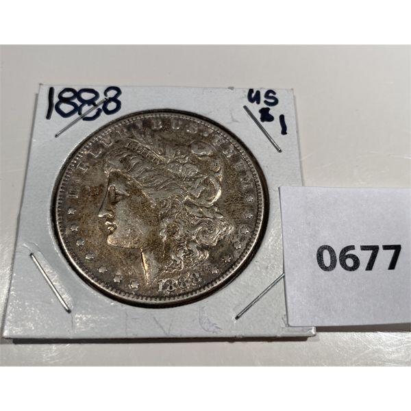 1888 US SILVER DOLLAR