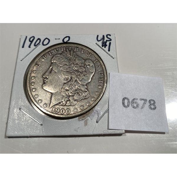 1900 - O US SILVER DOLLAR