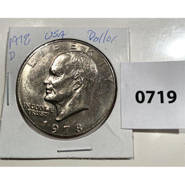 1978 EISENHOWER ONE DOLLAR COIN