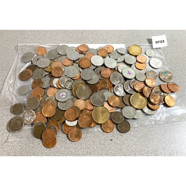 QTY OF CDN & US COINS - CURRENT DATES