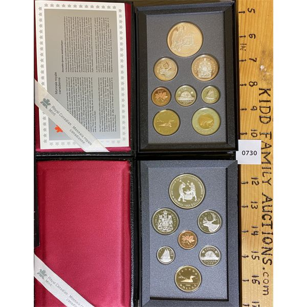LOT OF 2 - CND 1988 AND 1997 PROOF SETS