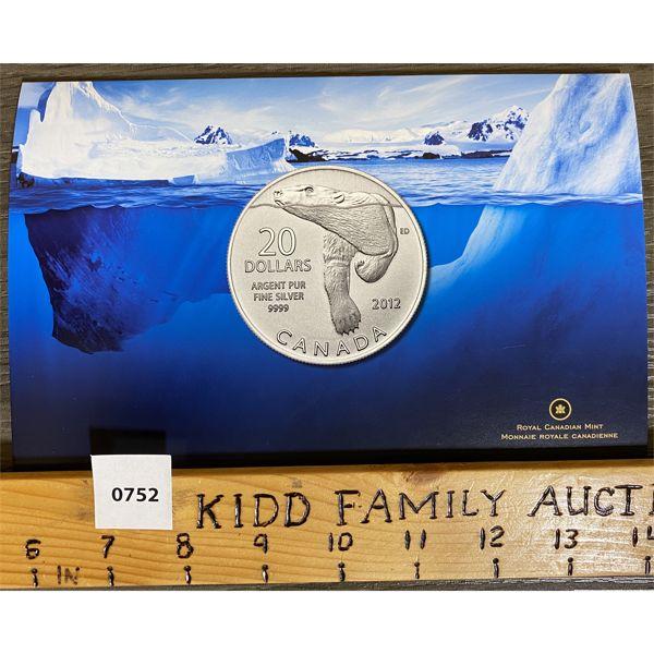2012 POLAR BEAR $20 COIN SET