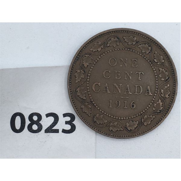 1916 CANADA LARGE CENT