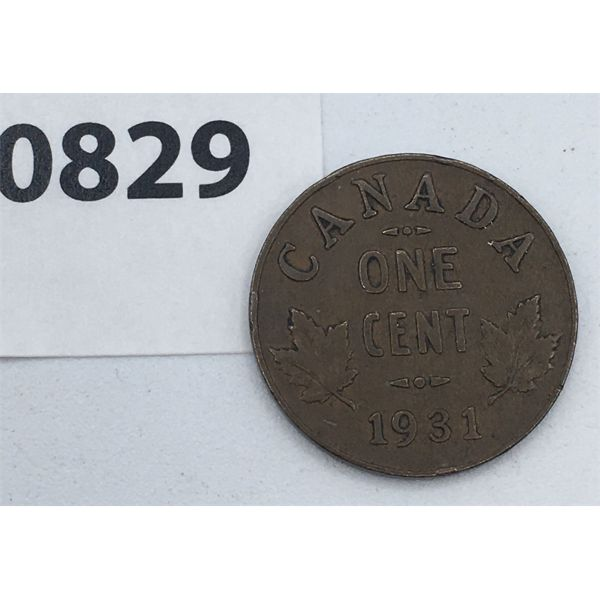 1931 CANADIAN SMALL CENT