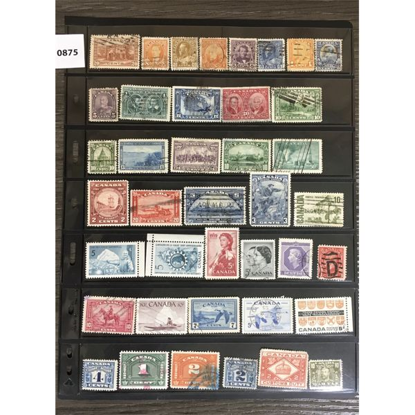 ANTIQUE CANADIAN STAMPS