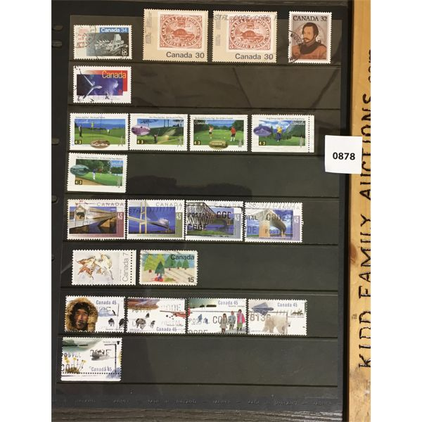ANTIQUE COLLECTIBLE CANADIAN STAMPS