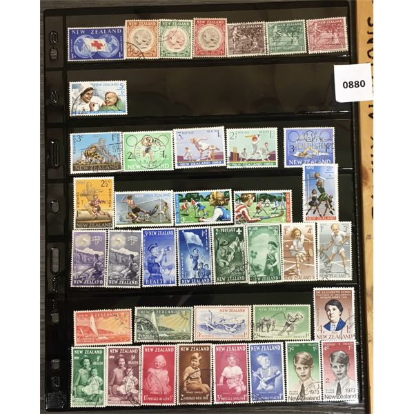 COLLECTIBLE NEW ZEALAND STAMPS