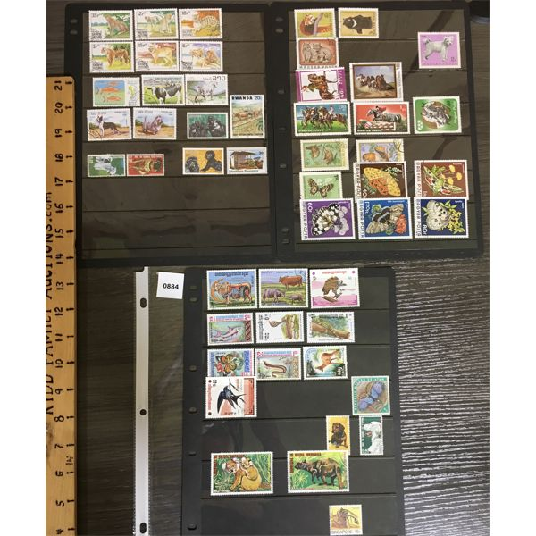 QTY OF MISC COLLECTIBLE STAMPS
