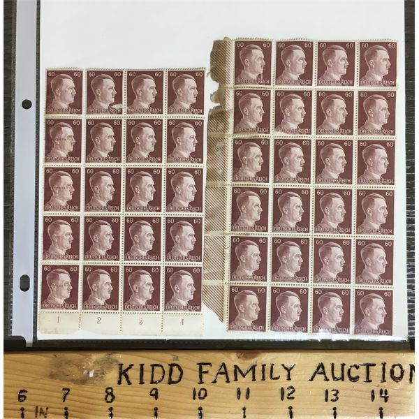 COLLECTABLE GERMAN STAMPS - ADOLF HITLER