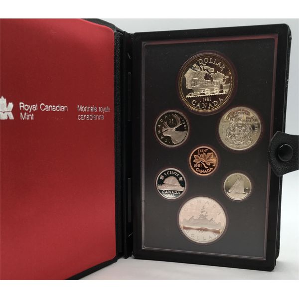 1981 CANADA DOUBLE DOLLAR PROOF SET