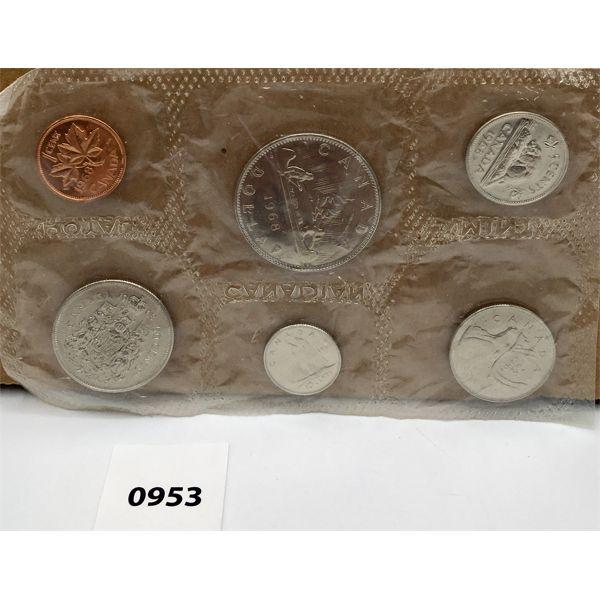 1968 RCM SET - ISLAND DOLLAR - UNCIRCULATED