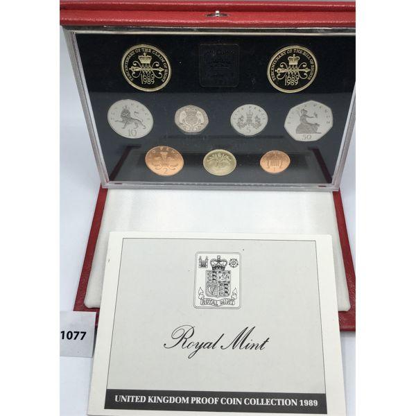 1989 UNITED KINGDOM PROOF COIN SET