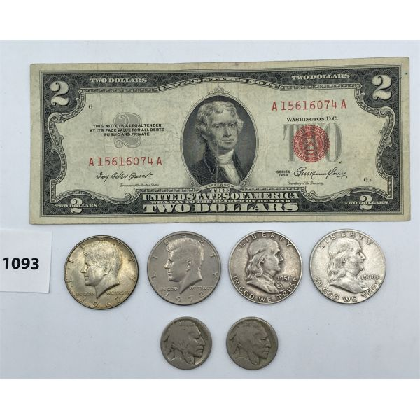 JOB LOT OF UNITED STATES CURRENCY