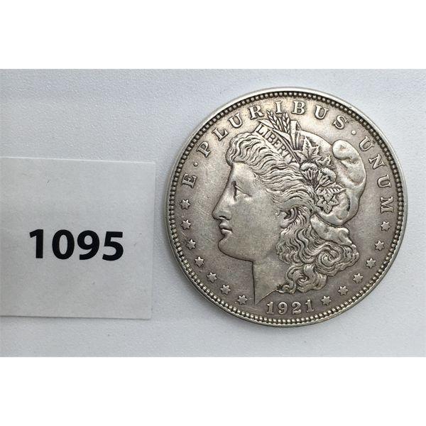 UNITED STATES LIBERTY SILVER DOLLAR - 1921