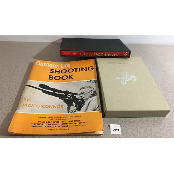 GROUSE MAGIC, OCTOBER FEVER, OUTDOOR LIFE SHOOTING BOOK