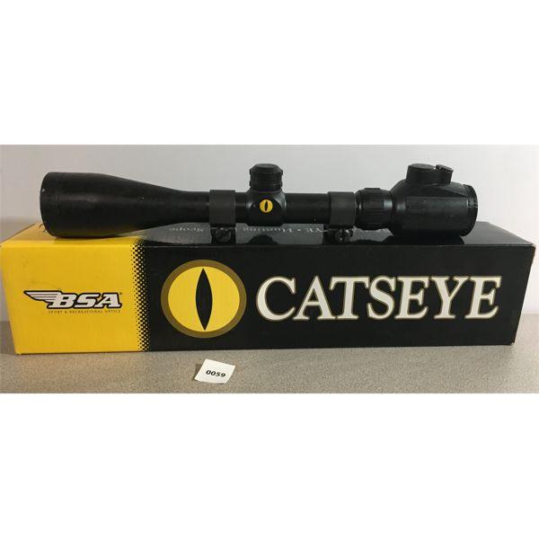 BSA CATSEYE HUNTING RIFLE SCOPE 3-10 x 44