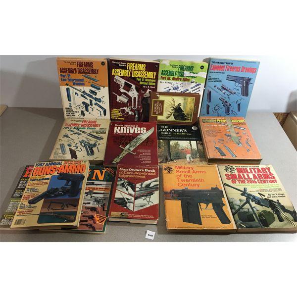 LOT OF 16 - FIREARM PUBLICATIONS