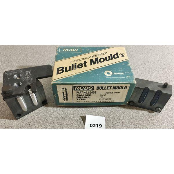 RCBS BULLET MOULD - 7MM 168GR