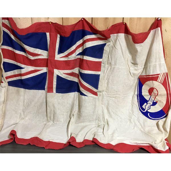 ANTIQUE MISC UNION JACK FLAG