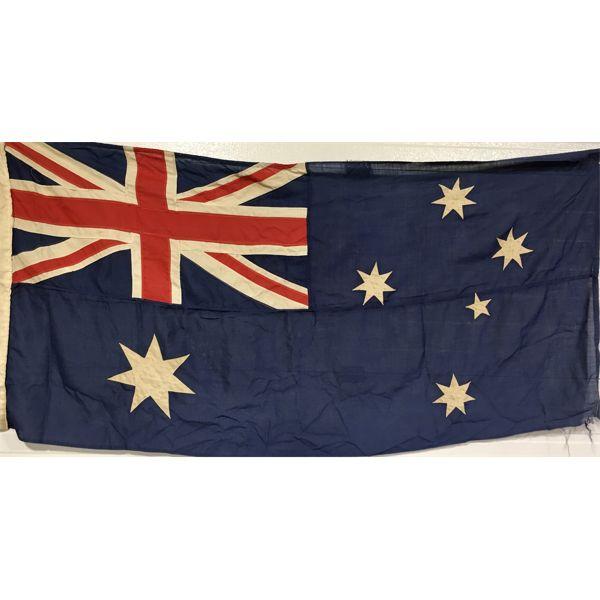 ANTIQUE AUSTRALIAN FLAG