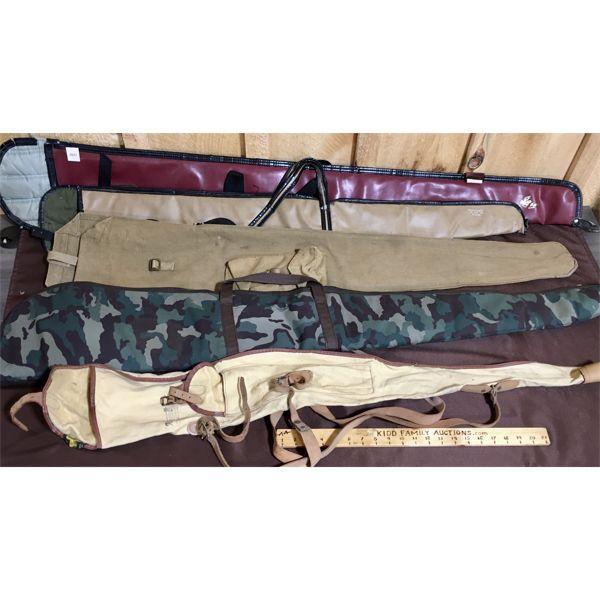 LOT OF 5 - SOFT GUN CASES