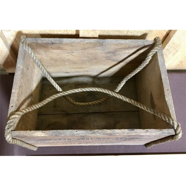 CIL AMMO BOX WITH ROPE HANDLES